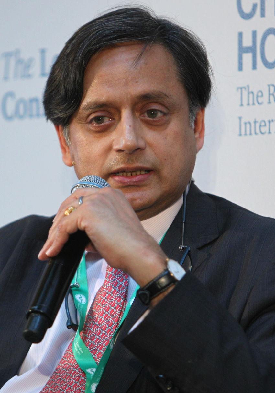 Photo of Shashi Tharoor: Indian politician, diplomat, author