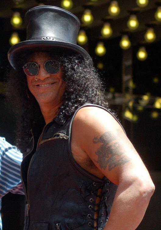 Photo of Slash (musician): British-American musician and songwriter