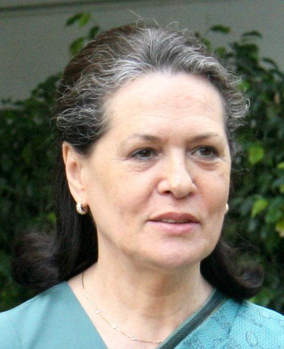 Photo of Sonia Gandhi: Italy-born Indian politician