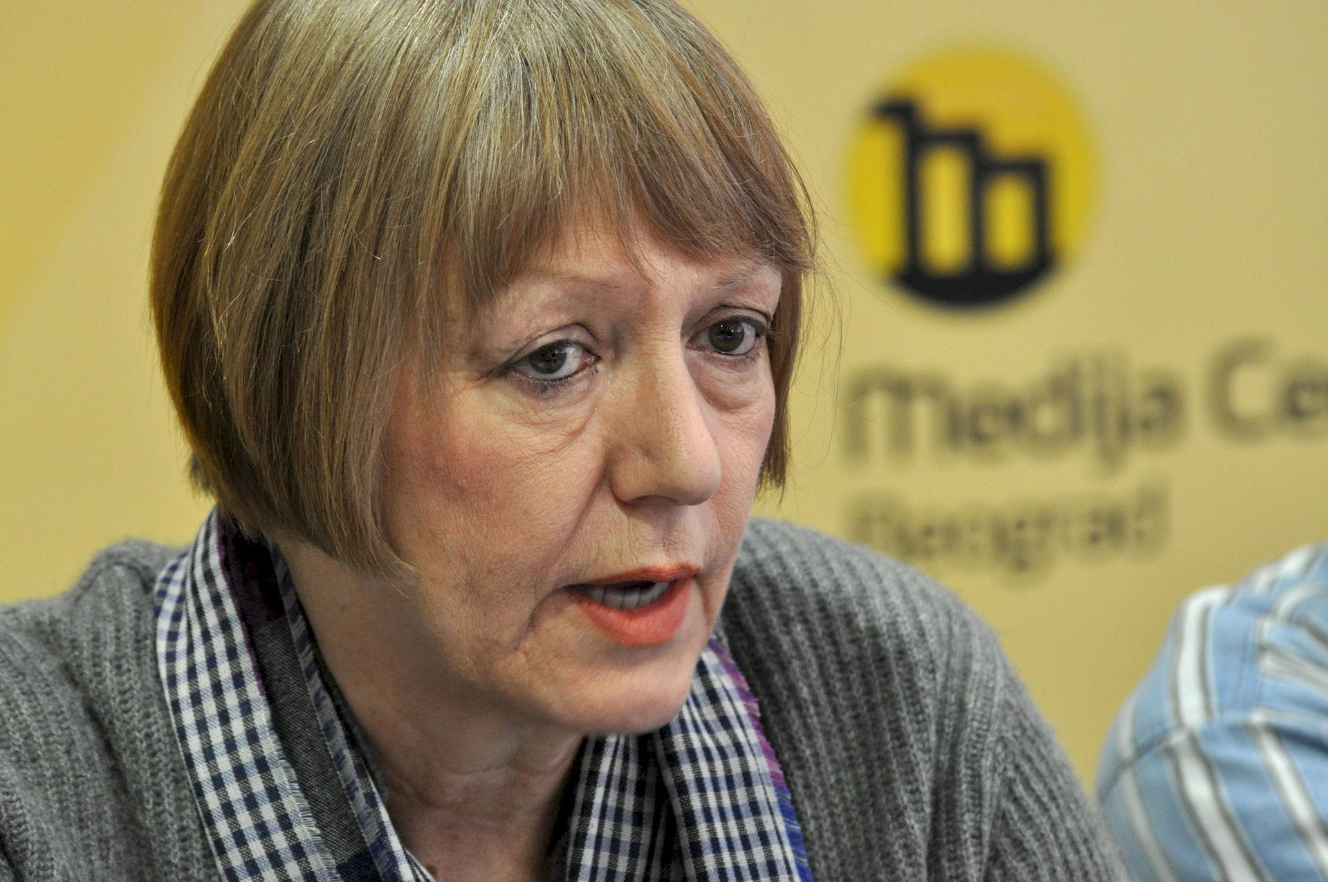 Photo of Sonja Biserko: Serbian human rights activist