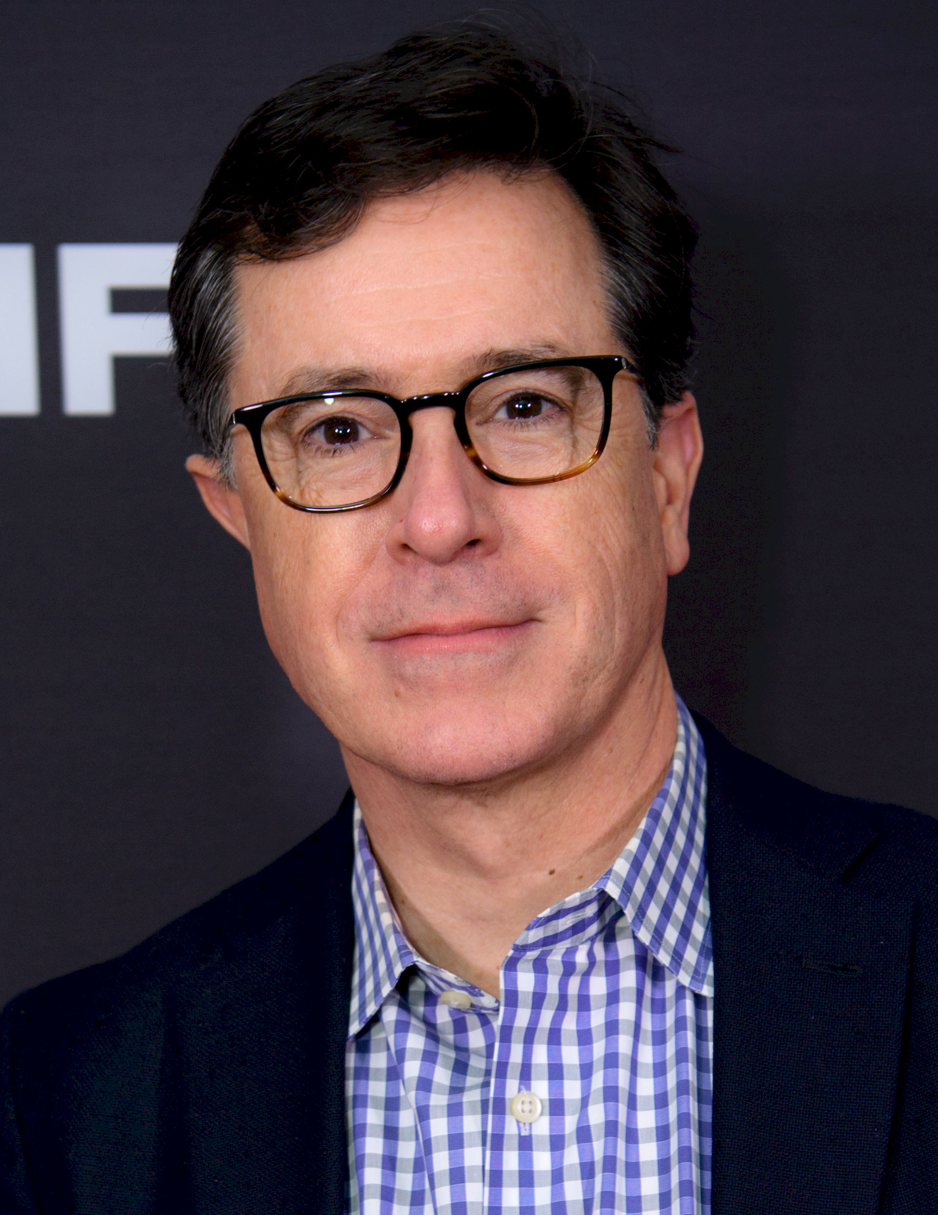 Photo of Stephen Colbert: American political satirist, writer, comedian, television host, and actor