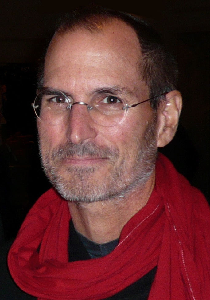 Photo of Steve Jobs: American entrepreneur and co-founder of Apple Inc.
