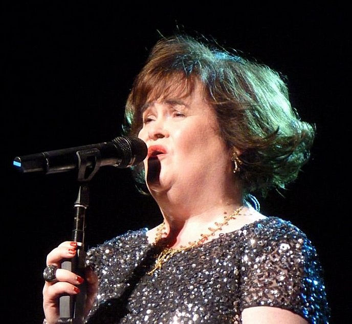 Photo of Susan Boyle: British singer