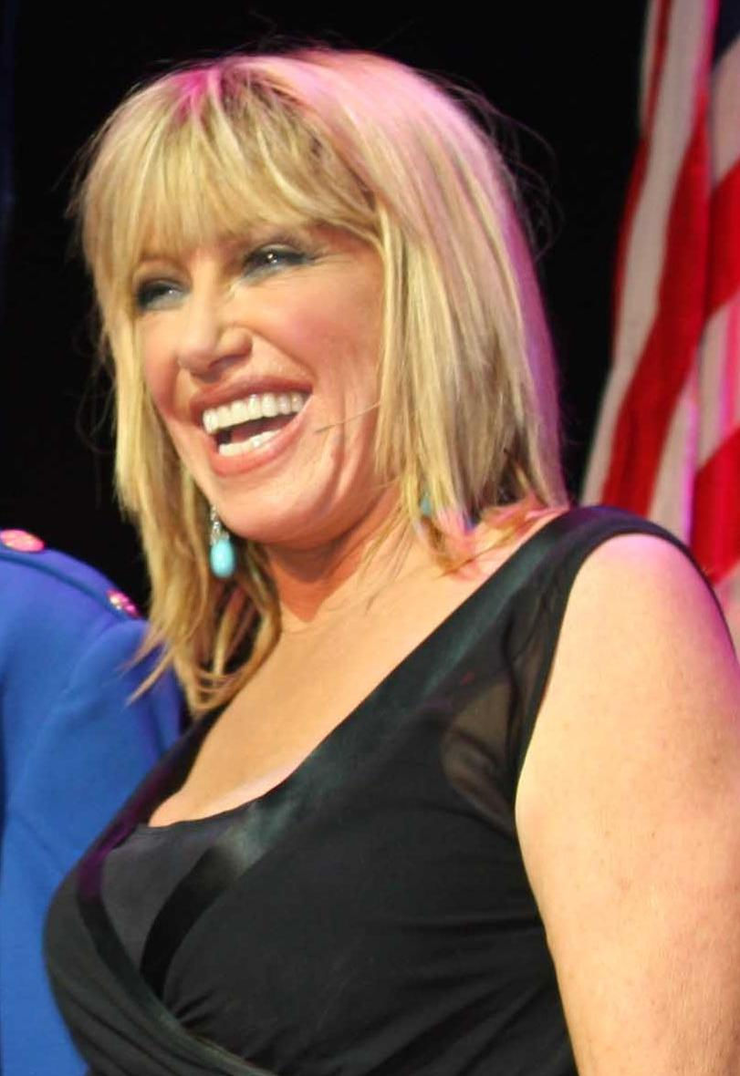 Photo of Suzanne Somers: American actress, writer, businesswoman