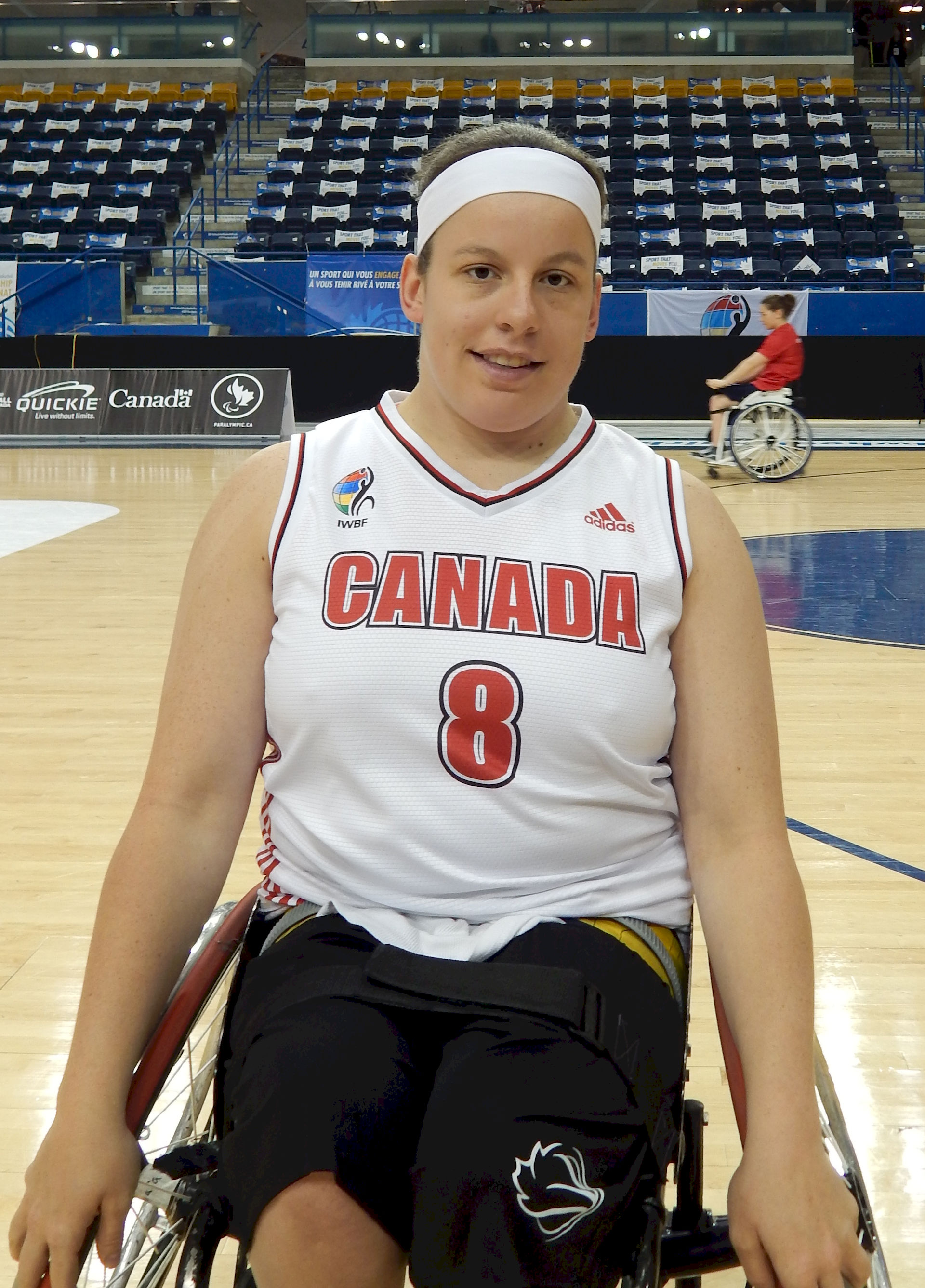 Photo of Tamara Steeves: Canadian wheelchair basketball player