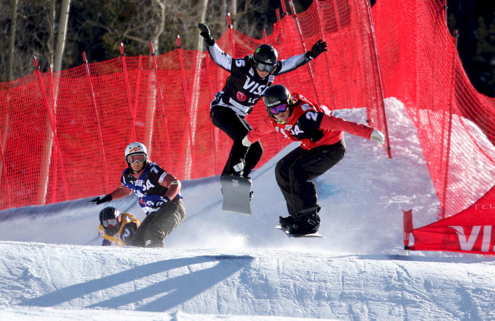 Photo of Tanja Frieden: Snowboarder