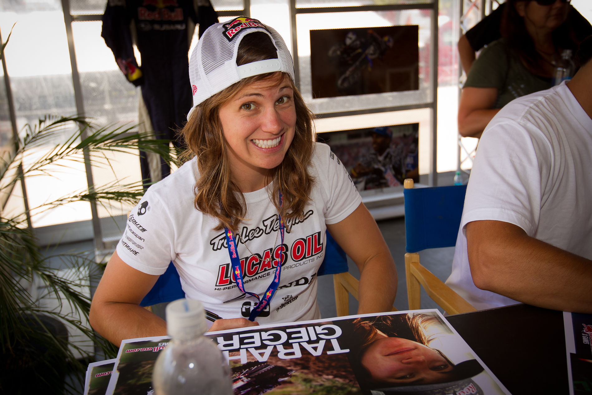 Photo of Tarah Gieger: Puerto Rico motorcycle racer
