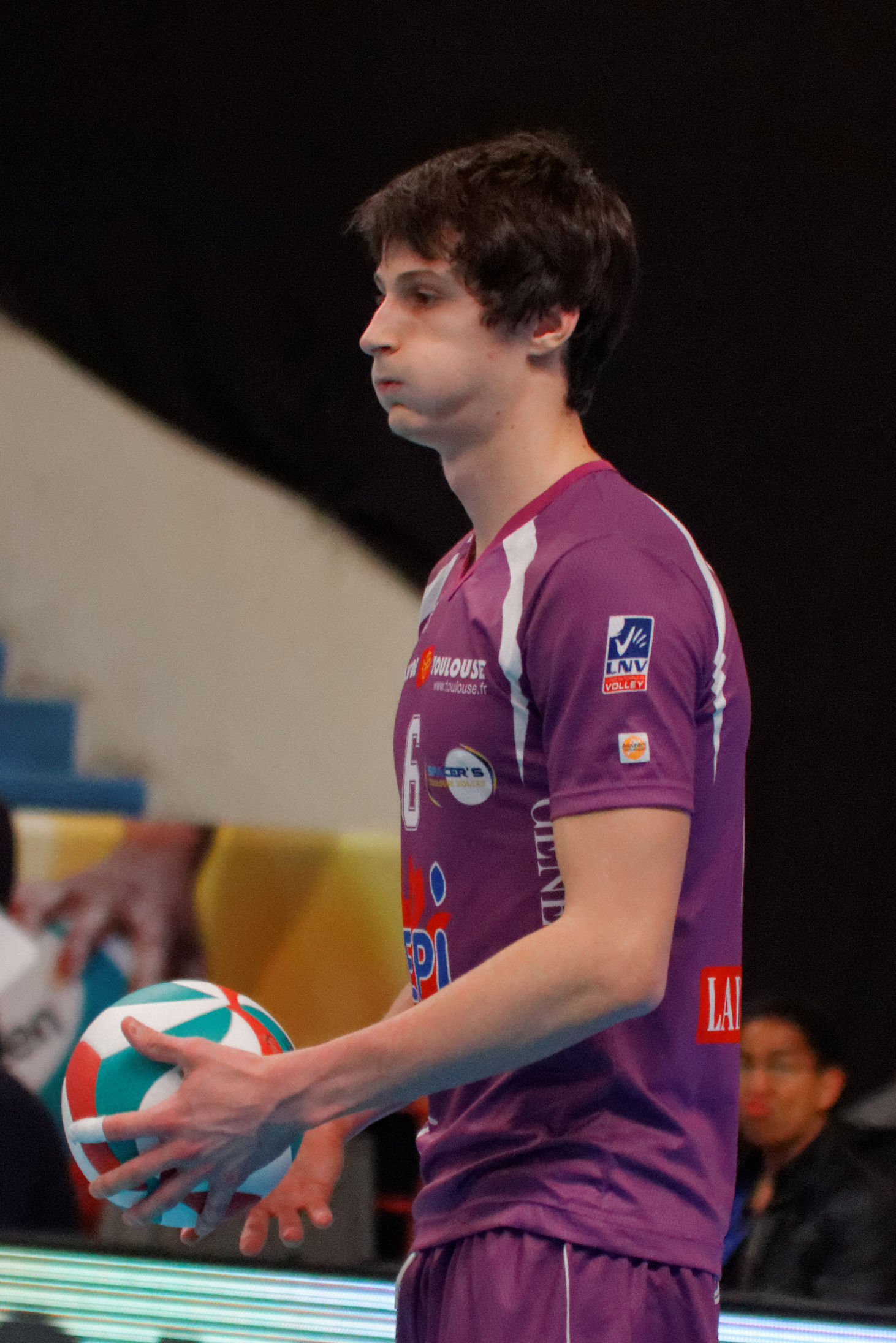 Photo of Thibault Rossard: French volleyball player