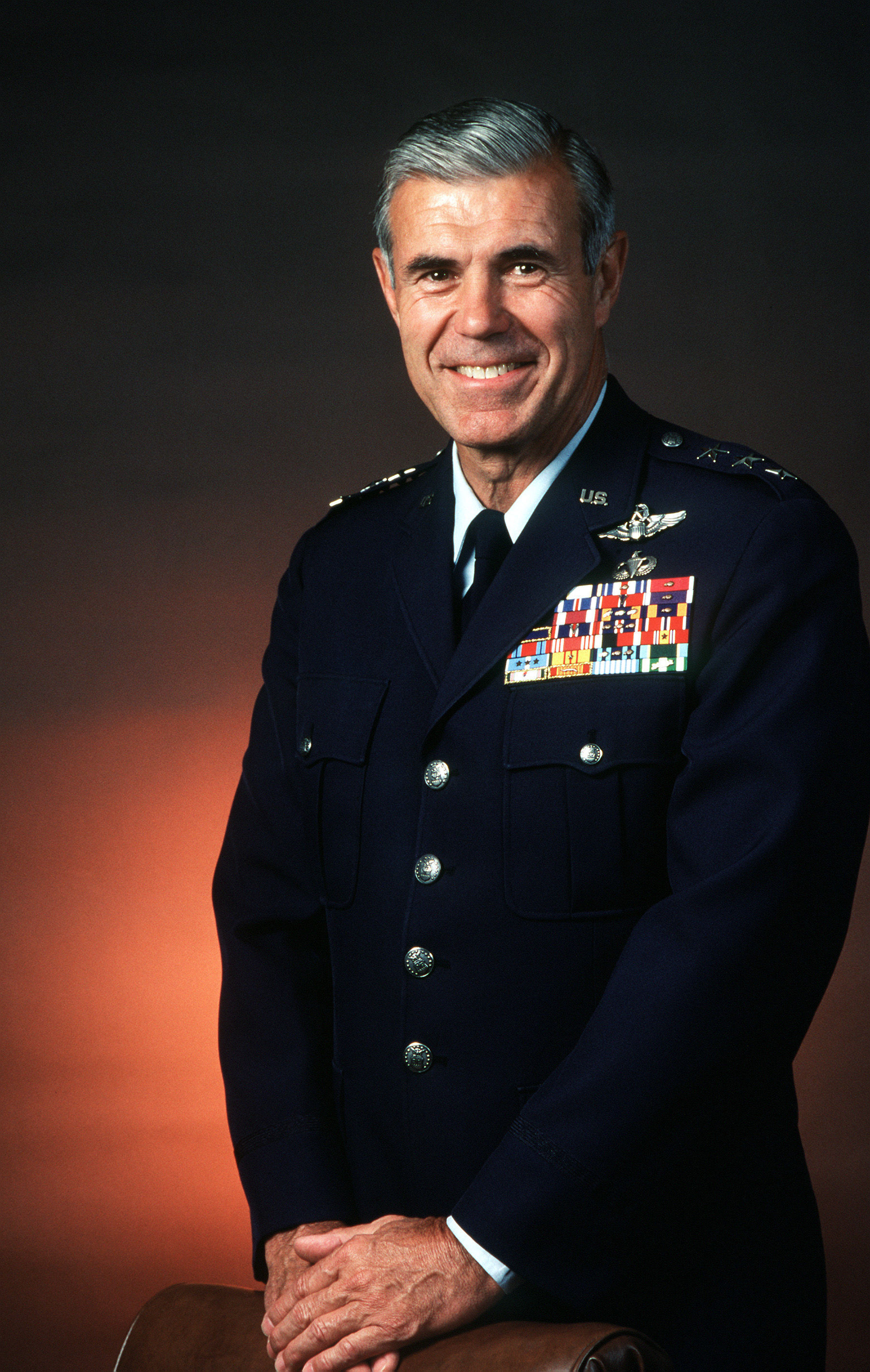Photo of Thomas C. Richards: General in the United States Air Force and the former chief of staff of the Supreme Headquarters Allied Powers Europe