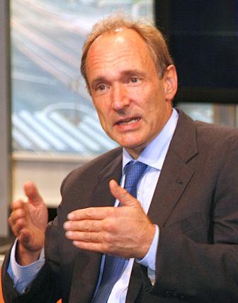 Photo of Tim Berners-Lee: Web developer