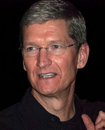 Photo of Tim Cook: American business executive