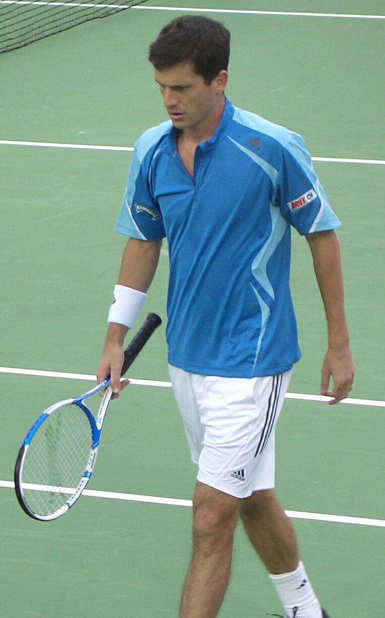 Photo of Tim Henman: English tennis player