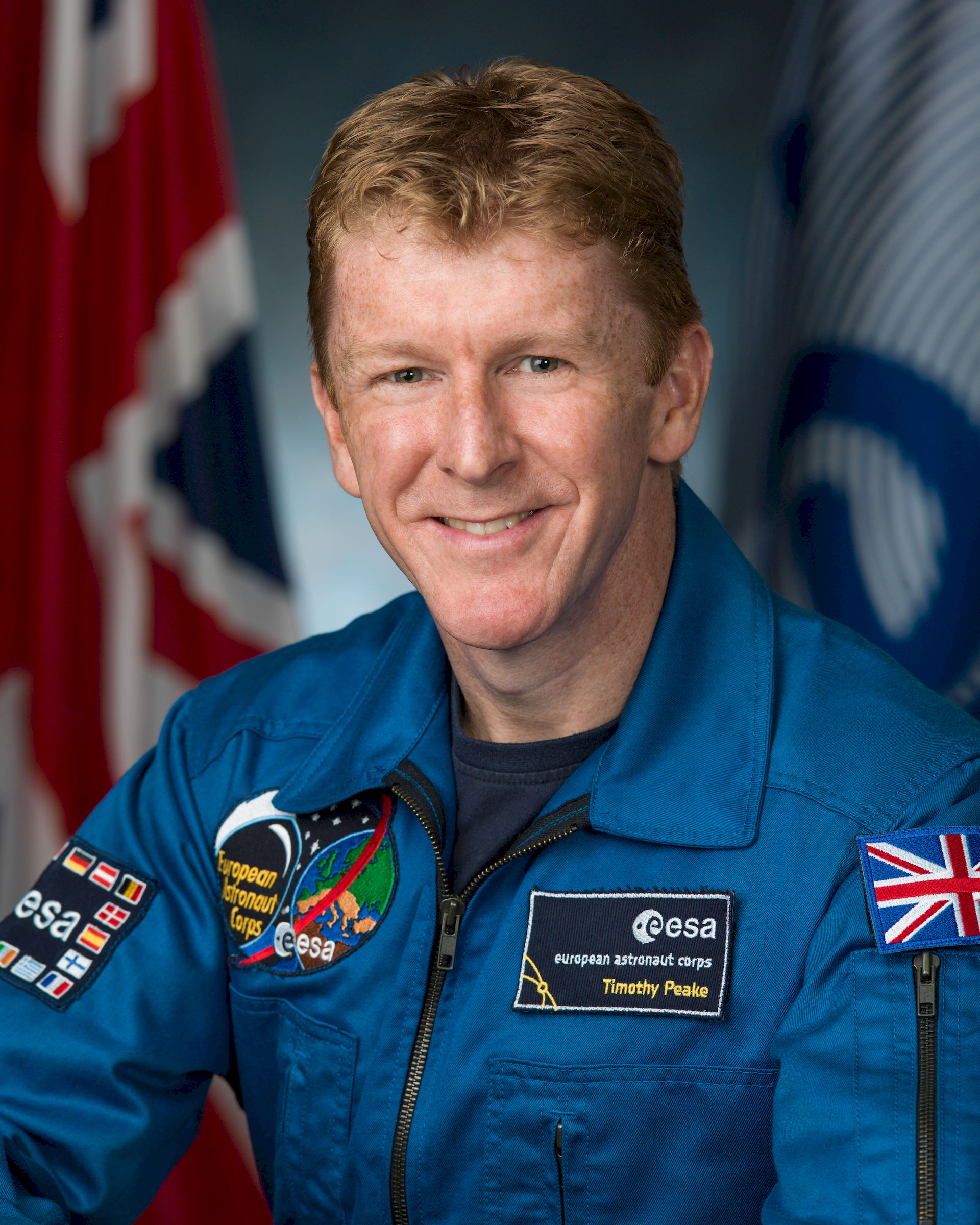 Photo of Tim Peake: British Army Air Corps officer and astronaut