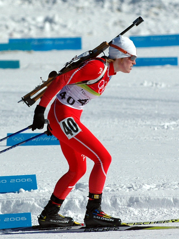 Photo of Tora Berger: Norwegian biathlete