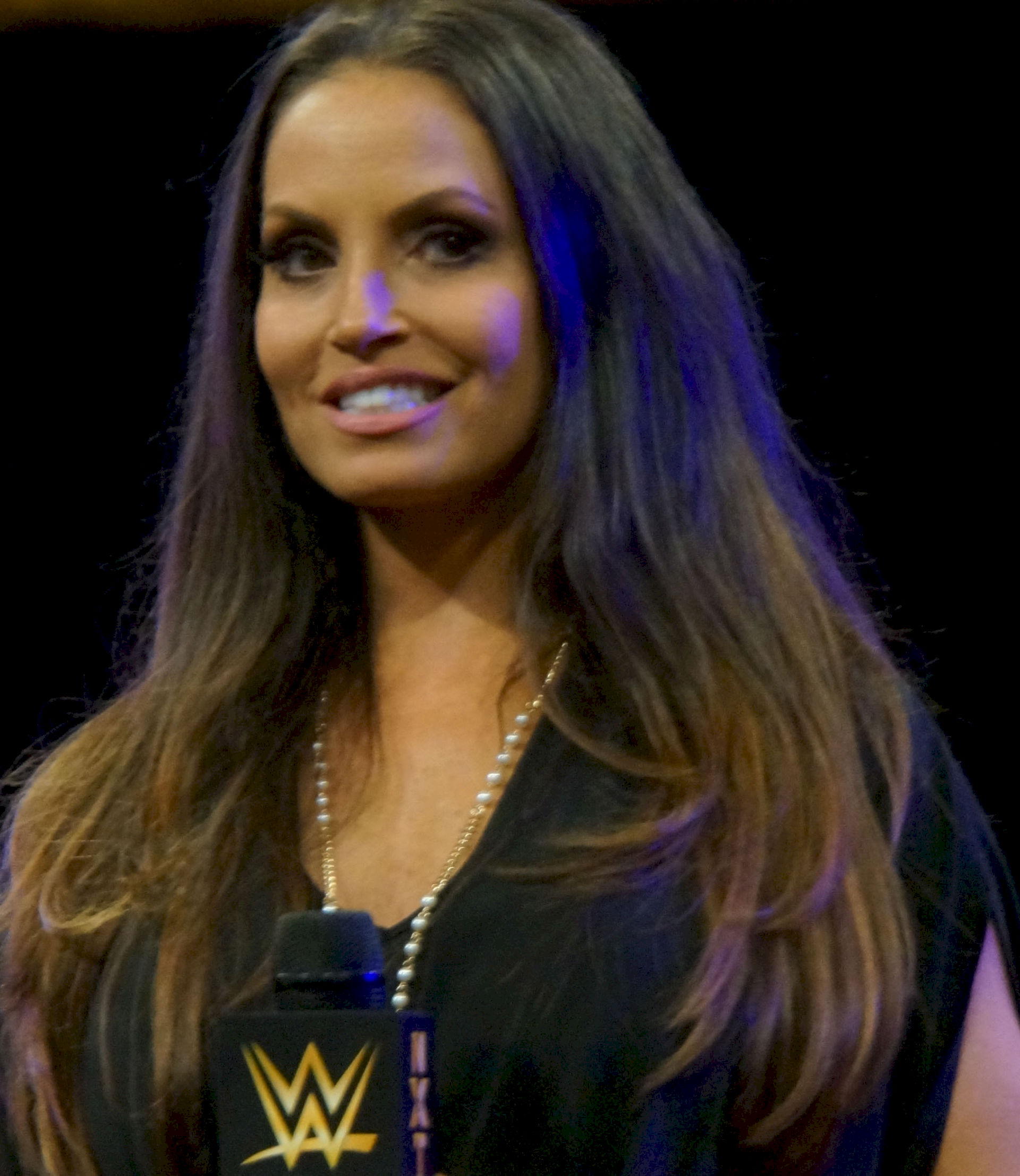 Photo of Trish Stratus: Canadian professional wrestler, fitness guru, actress, television personality, and fitness model