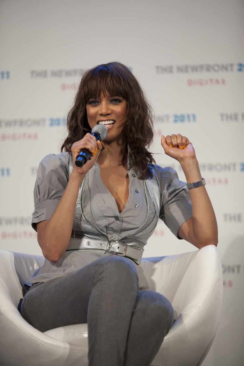 Photo of Tyra Banks: American model, author and television personality