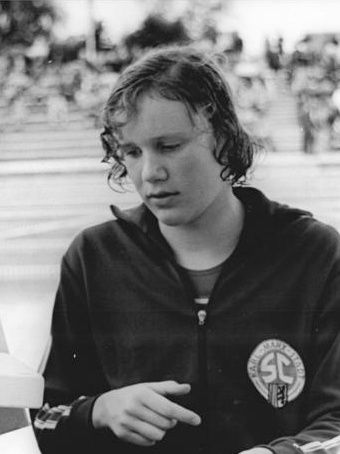Photo of Ulrike Tauber: Swimmer