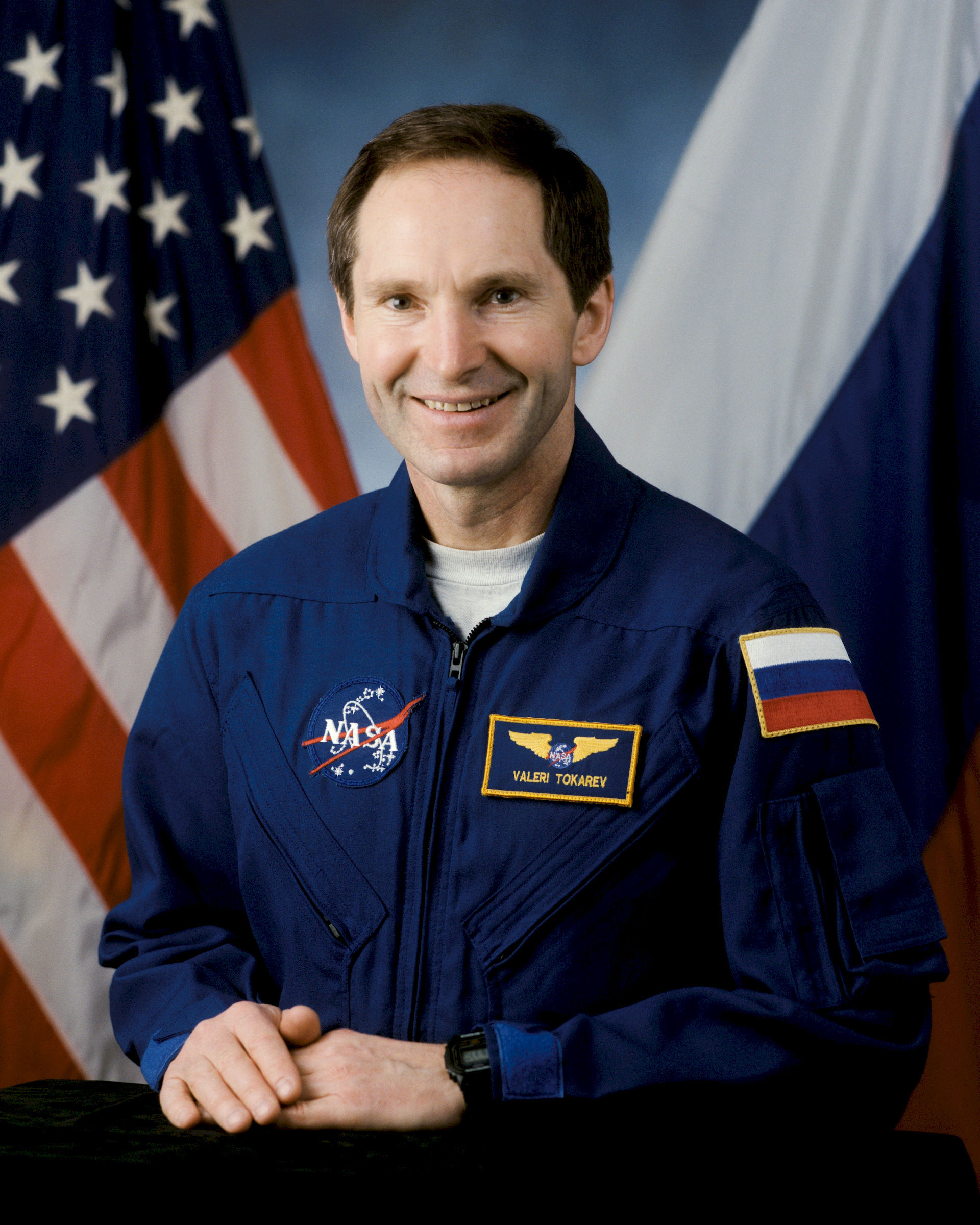 Photo of Valeri Tokarev: Russian cosmonaut