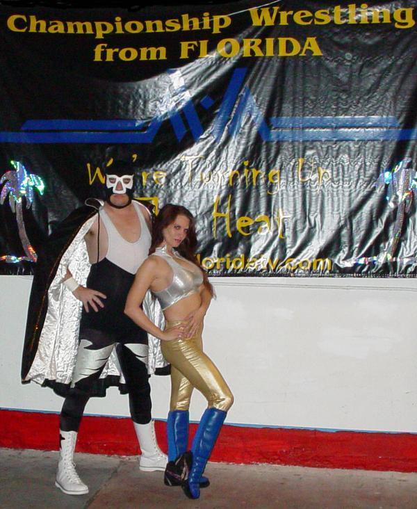Photo of Vanessa Harding: American wrestler