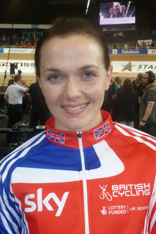 Photo of Victoria Pendleton: British cyclist and jockey