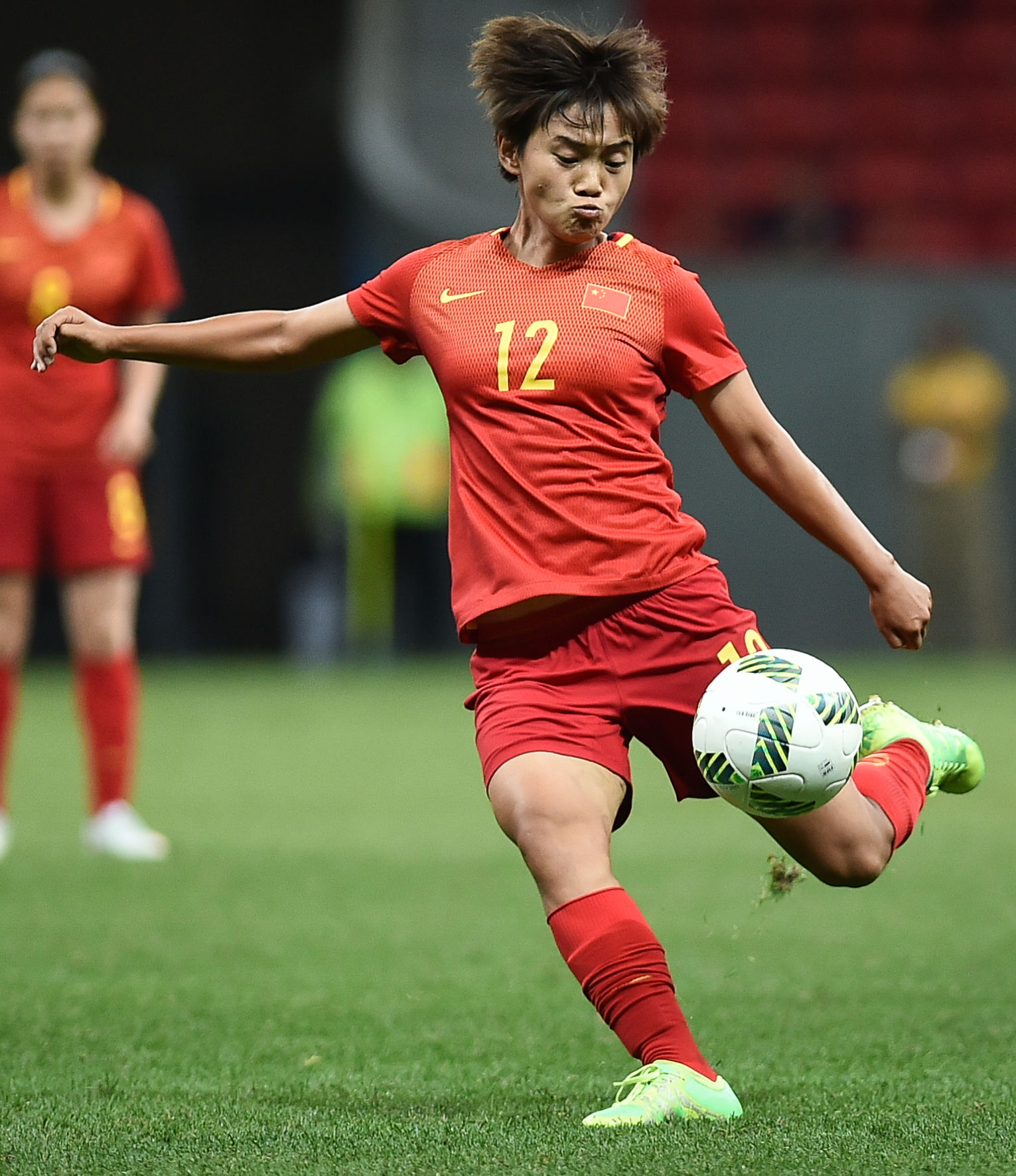 Photo of Wang Shuang (footballer): Chinese soccer player