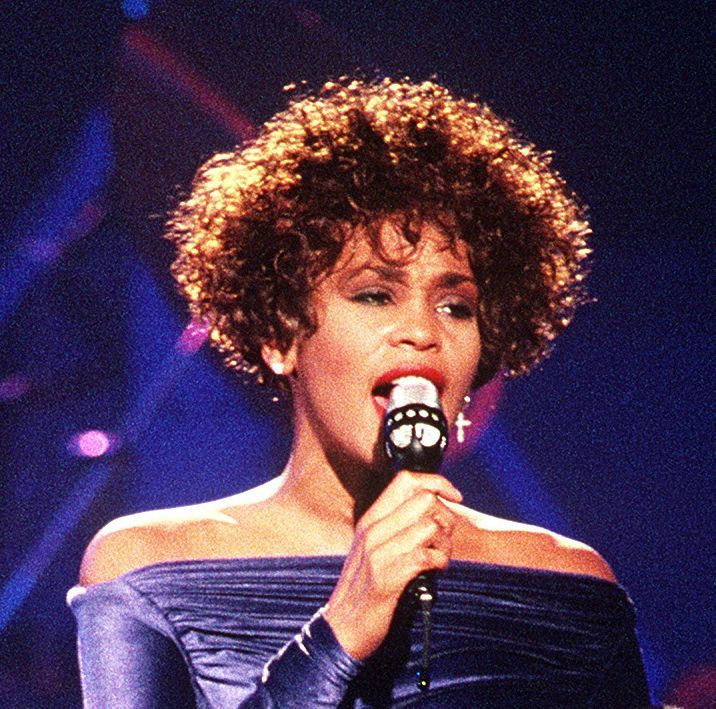 Photo of Whitney Houston: American actress and singer, model and record producer