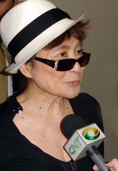 Photo of Yoko Ono: Japanese artist, author, and peace activist