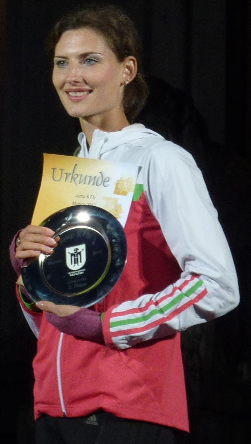 Photo of Yuliya Pidluzhnaya: Russian long jumper