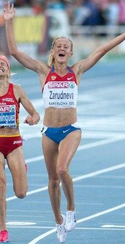 Photo of Yuliya Zaripova: Russian middle-distance runner