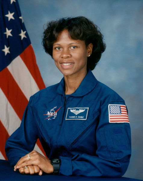 Photo of Yvonne Cagle: African American astronaut
