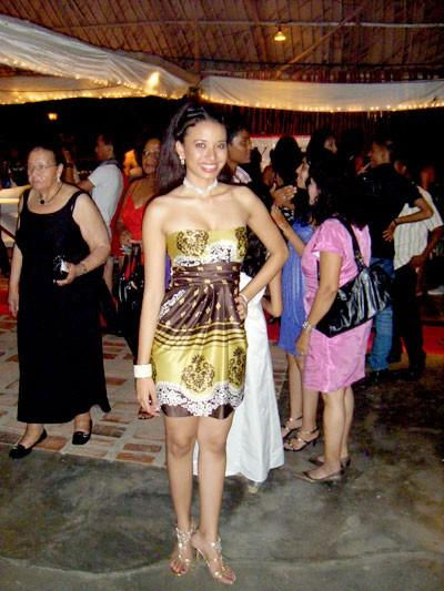 Photo of Zoureena Rijger: Surinamese model
