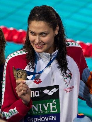 Photo of Zsuzsanna Jakabos: Swimmer